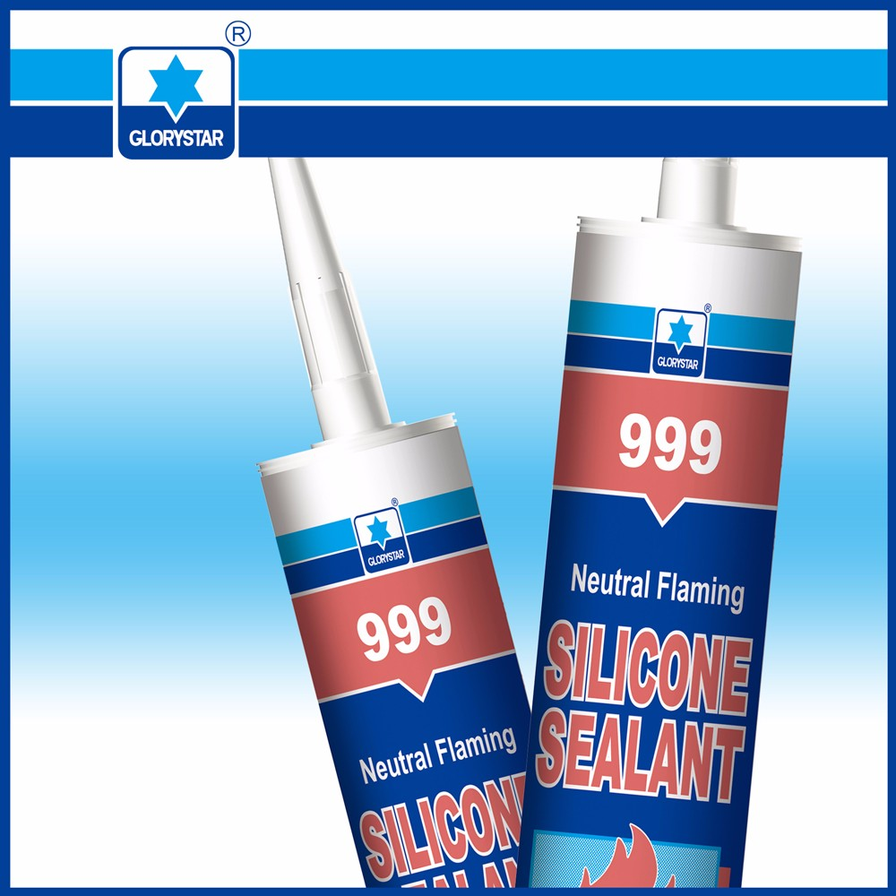 fireproof silicone sealant with factory price