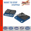 performance atv brake part semimetal brake pad