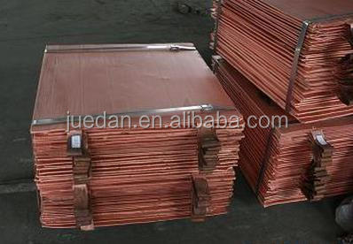 Cheap Price 99.99% pure electrolyte copper cathode with many specification