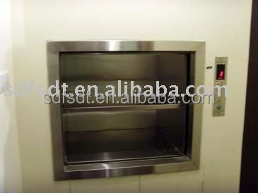 SHANDONG Fuji dumb waiter/ service lift for hospitial or hotel used japan technology