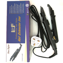 Top quality loof professional hair extension iron heating iron