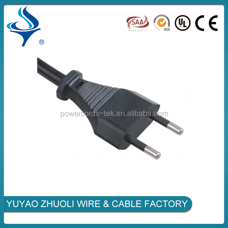 Italy power cord 2 pin IMQ power cord Italy power plug