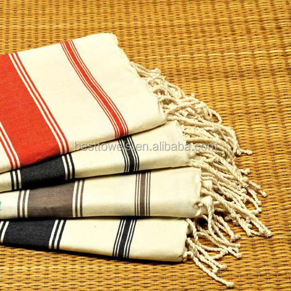 100% cotton turkish hammam towels fouta