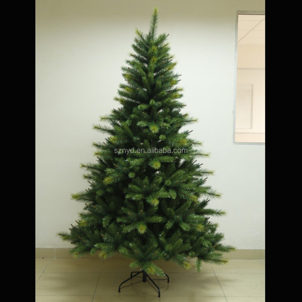 6ft slim pvc pine needle christmas tree for christmas decoration