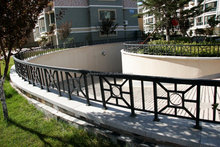 high quality modern wrought iron ornaments fence designs