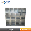 KA-505-201 Durable Stainless Steel Dog Cage Kennels Modular Dog Show Cage