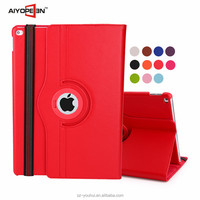 11 Colors Multicolor Soft PU Leather Rotating Case Flip Cover for iPad Pro
