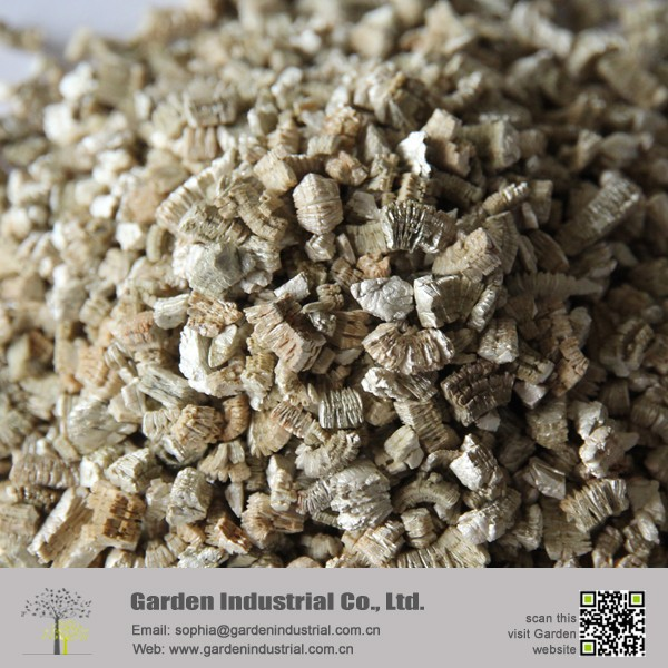 Silver Vermiculite For Making Brake Block