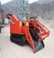 Crawler haggloader for tunnelling and mining tunnelling loader