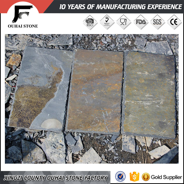 Factory steady supplier slate stone material types roofing tile