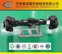 Production LS X704/X804/X904/1004 wheel tractor front drive axle for sale, LS wheel tractor part