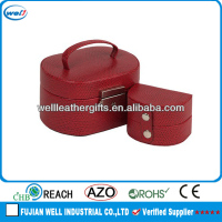 leather decorative cheap jewelry box hinge