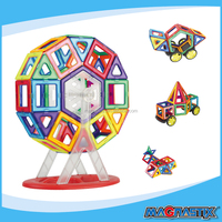 76Pcs Magnetic building blocks Early childhood educational toys,elementary education Building blocks