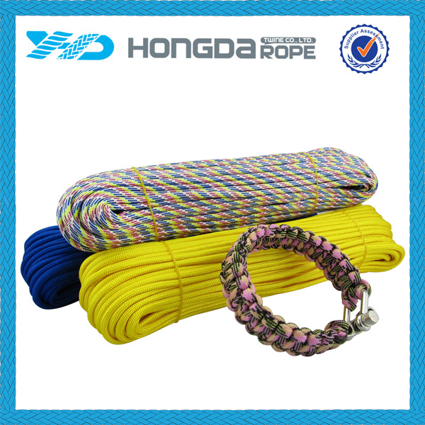 colored 550 paracord cord for paracord survival bracelet making