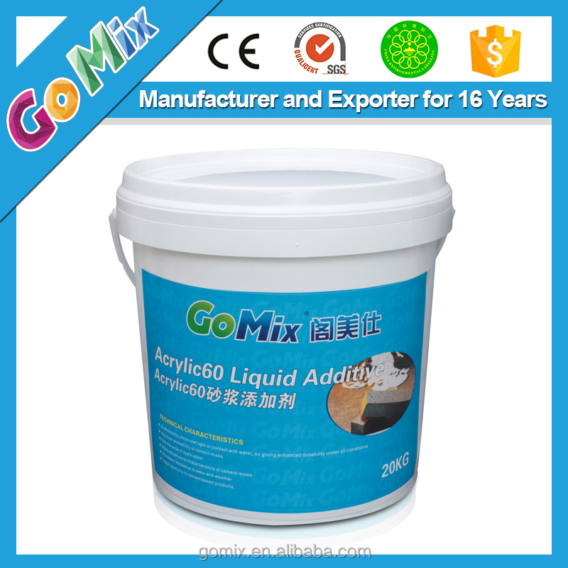 Multipurpose Mortar Additive Acrylic60 Universal Bonding Agent for Powder Products