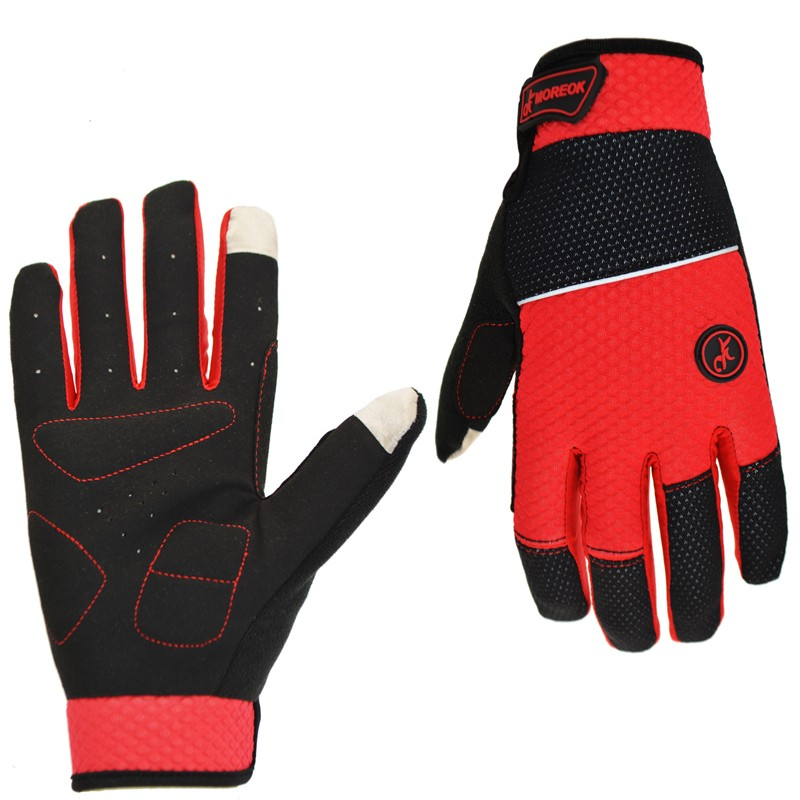 Winter <strong>Shock</strong>-proof & Water-proof Men Full Finger Bicycle Cycling Gloves