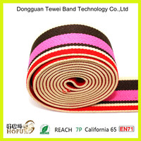 Hair band elastic thick colored,elastic knitted tape