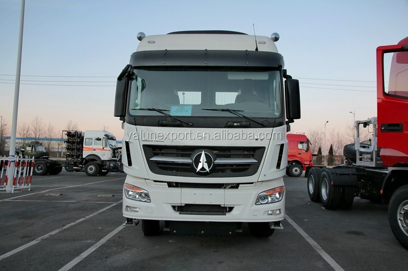 China heavy truck Beiben V3 380hp prime mover 10 wheels truck head