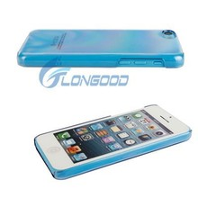 Fashion Transparent Hard Back Cover Case for Apple iPhone 5C