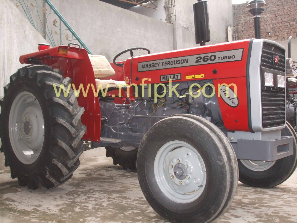 Pakistan Massey Ferguson MF 260 2 WD 60 HP Farm Tractor