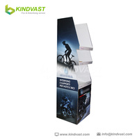 OEM Cardboard POS Hanging Bag Display Stand