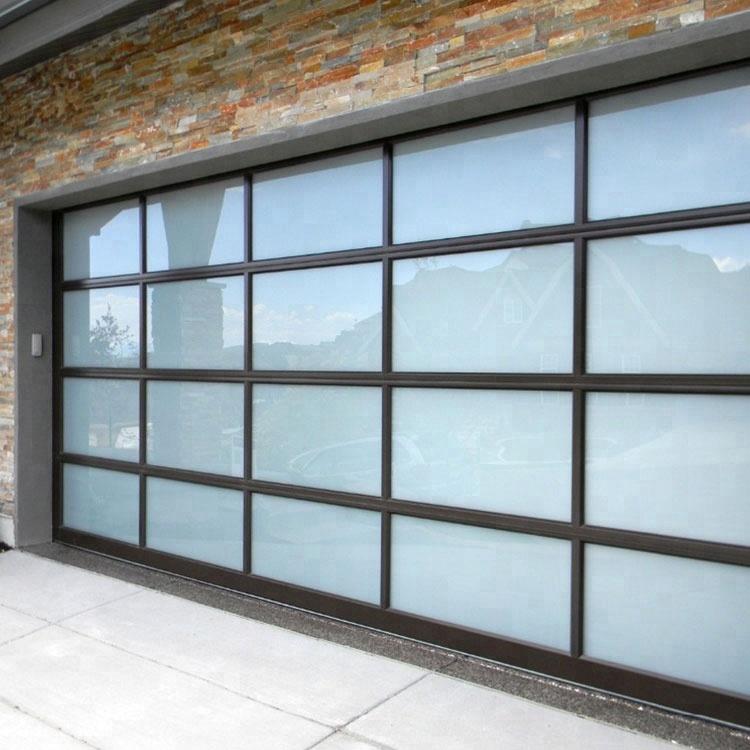 Full View Safety Insulated Glass Garage Door Interior Glass Doors
