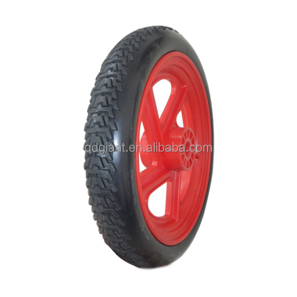 12 inch factory produces wheels pu foam material on sale
