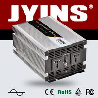 china supplier CE JYINS Pure Sine Wave Power Inverter With Charger 500W