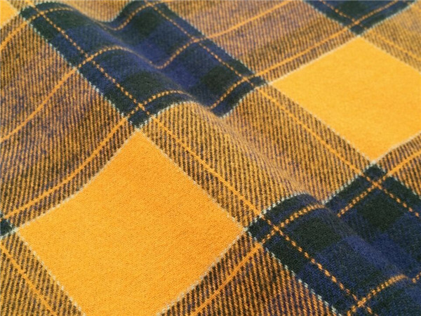 60 Cotton 40 Polyester Yarn Dyed Flannel Fabric For Shirt