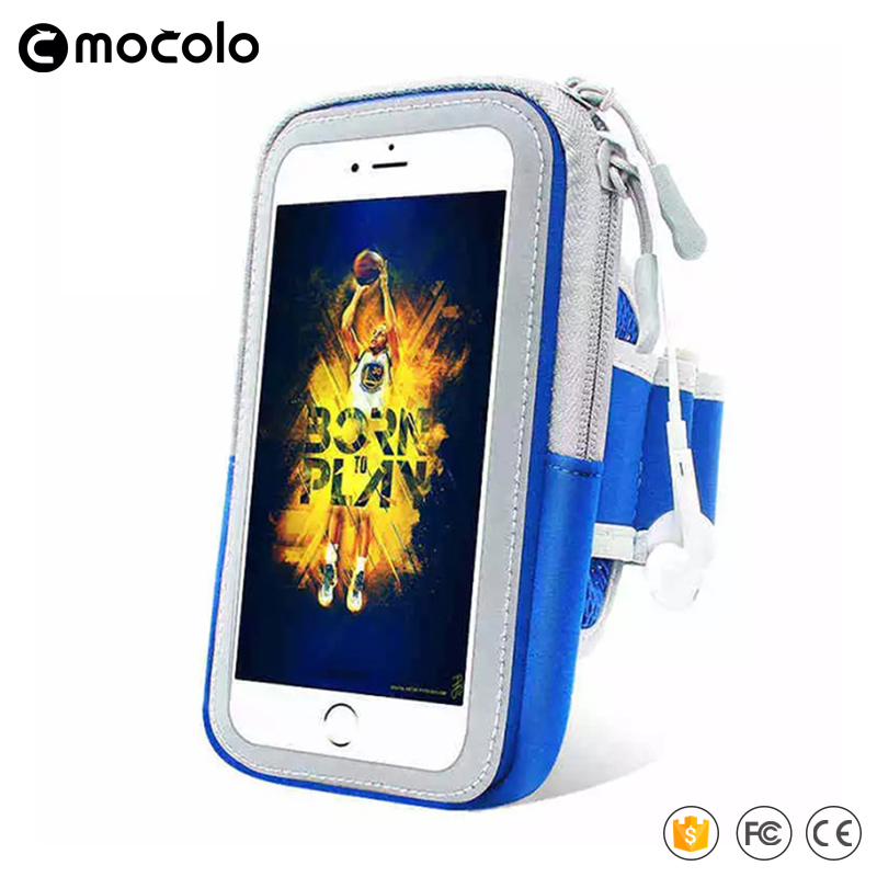 2017 New Nylon Mobile phone Armlet for Iphone ,Nice quality for mobile for running with magic sticks