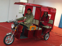 Speed 25km/h 48V850W Eco friendly electric rickshaw for India TRI-8