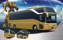 Daewoo design GL6128H luxury large sleeping bus
