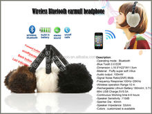 Plush Earmuff with Speaker,bluetooth earmuffs,CE&ROHS