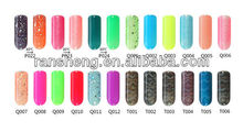 2013 Newest Soak Off UV Nail Gel Hot color changeable for sales promotion Nails Uv Gel 800 color series