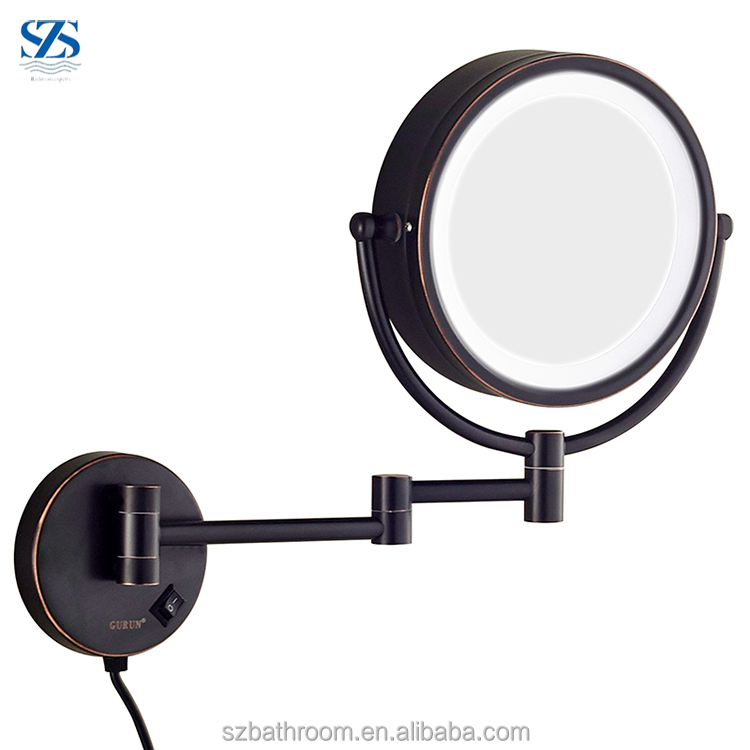 ORB Touch Sensor Chinese LED Bathroom Wall Mirror With Lights