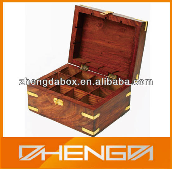 HOTSALE Customized Made-in-China Antique Wooden Spice Boxes(ZDW13-H311)
