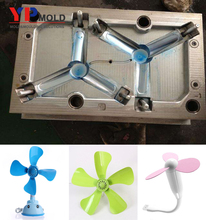 customized yuyao plastic fan blade logo plastic injection moulding/mold