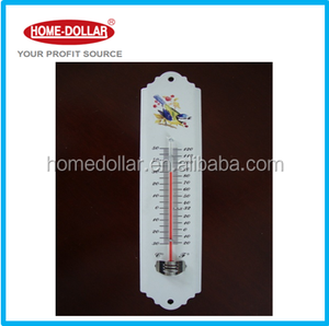 Household Indoor/Outdoor Garden Metal Wall Thermometer