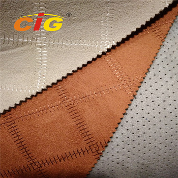 Cheap Price Good Quality Synthetic Microfiber Faux Suede Fabric