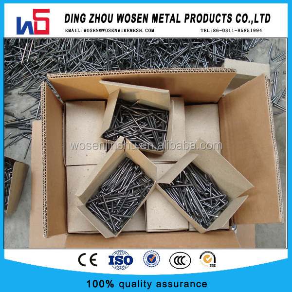High quality wire nails factory/common wire nails price/steel wire nails manufacture in china