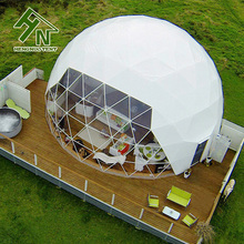 Hot sale fashion big party geodesic dome tent / canopy dome tent manufacturer