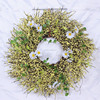 2017 artificial fruit red berry artificial boxwood easter wreath