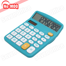 NO MOQ 10 Digit Display Handheld Solar and Battery Powered Desktop Fancy Calculator Price