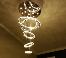 round ring factory-outlet crystal pendant light chandelier light
