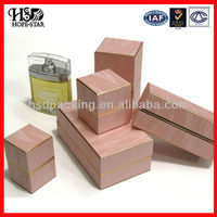 2013 New Style Wood-Grained Paper Jewelery Box Customized(HSD-H3698)