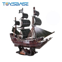 Eco-Friendly Children 3D Paper Jigsaw Puzzle The Black Pearl