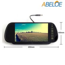 shenzhen 7 inch car android rear view tv monitor with usb