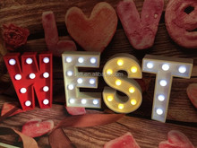 New type party decoration lighted marquee letter lights