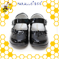 Factory Price healthy non slip black childrens designer shoes