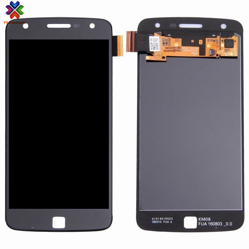 Test one by one lcd display for Motorola <strong>Z</strong> Play XT1635-02 XT1635-01 lcd screen digitizer with long term warranty